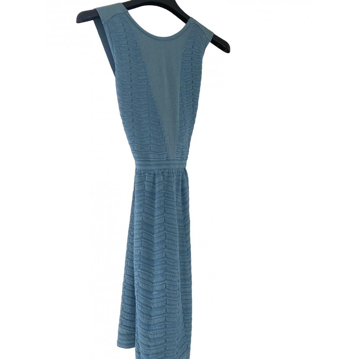 M Missoni \N Kleid in  Tuerkis Viskose