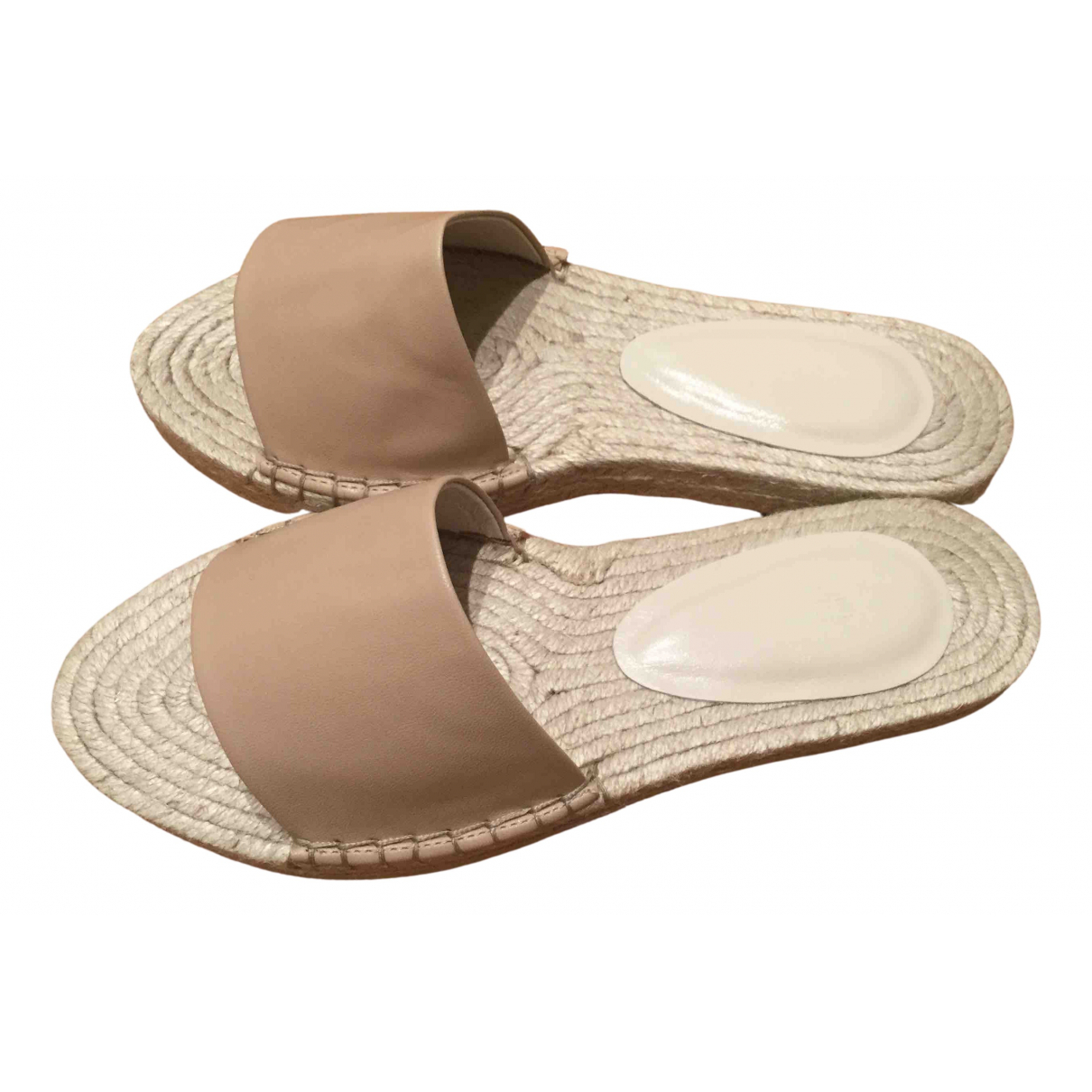House Of Harlow \N Beige Leather Espadrilles for Women 37 EU