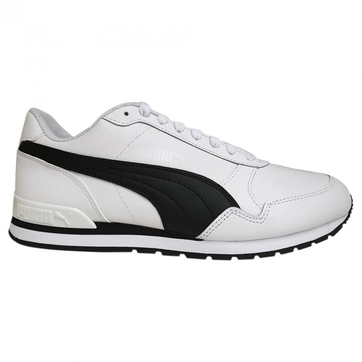 Puma - Baskets   pour homme en cuir - blanc