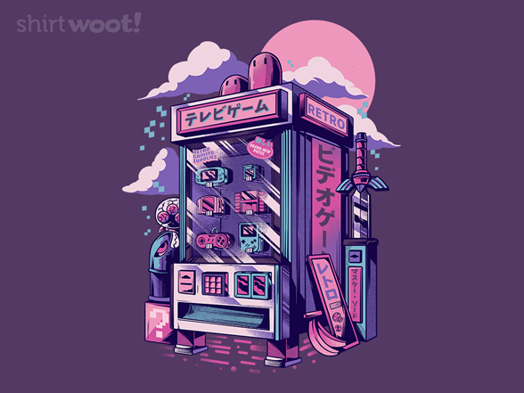 Retro Vending Machine T Shirt