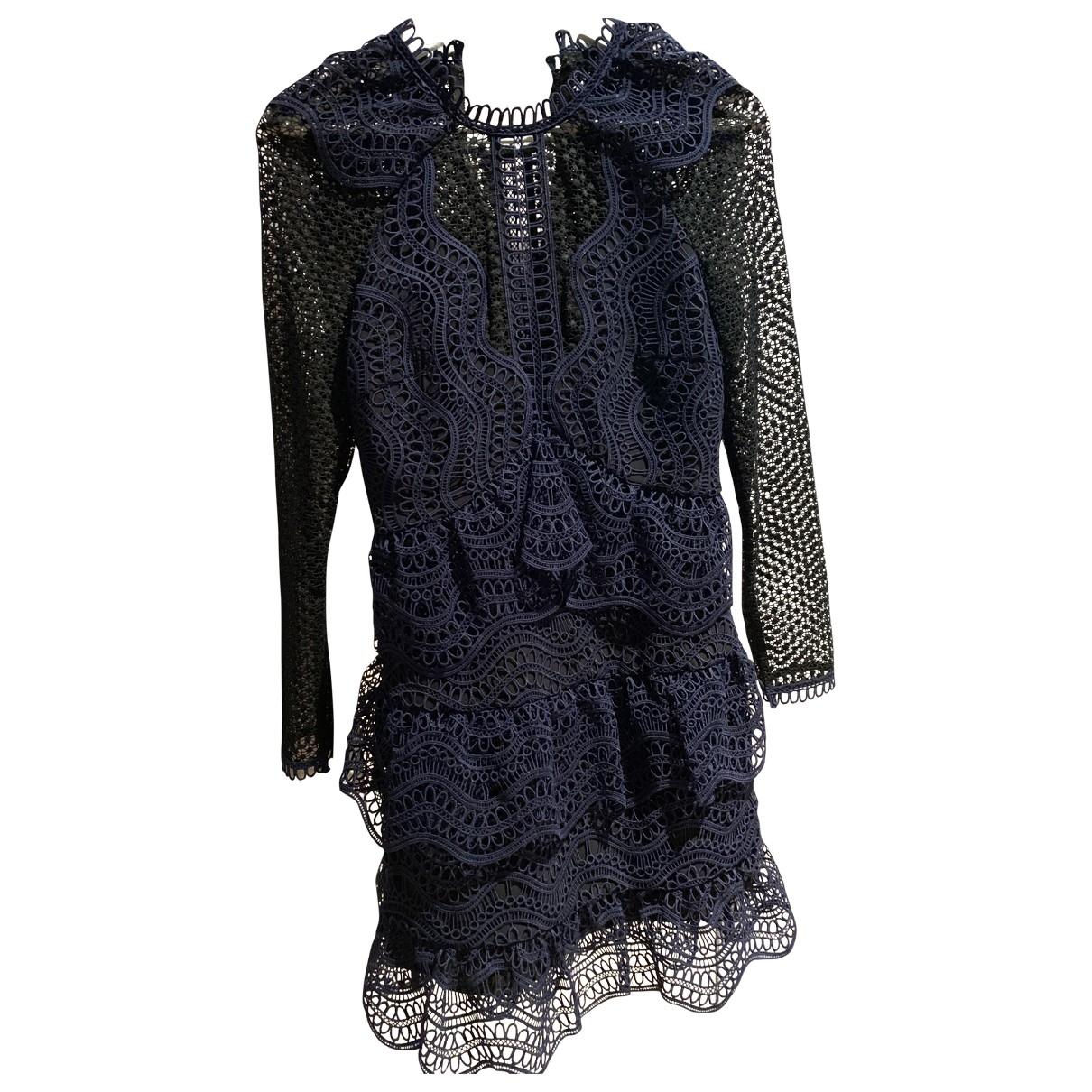 Self Portrait \N Blue dress for Women 8 UK