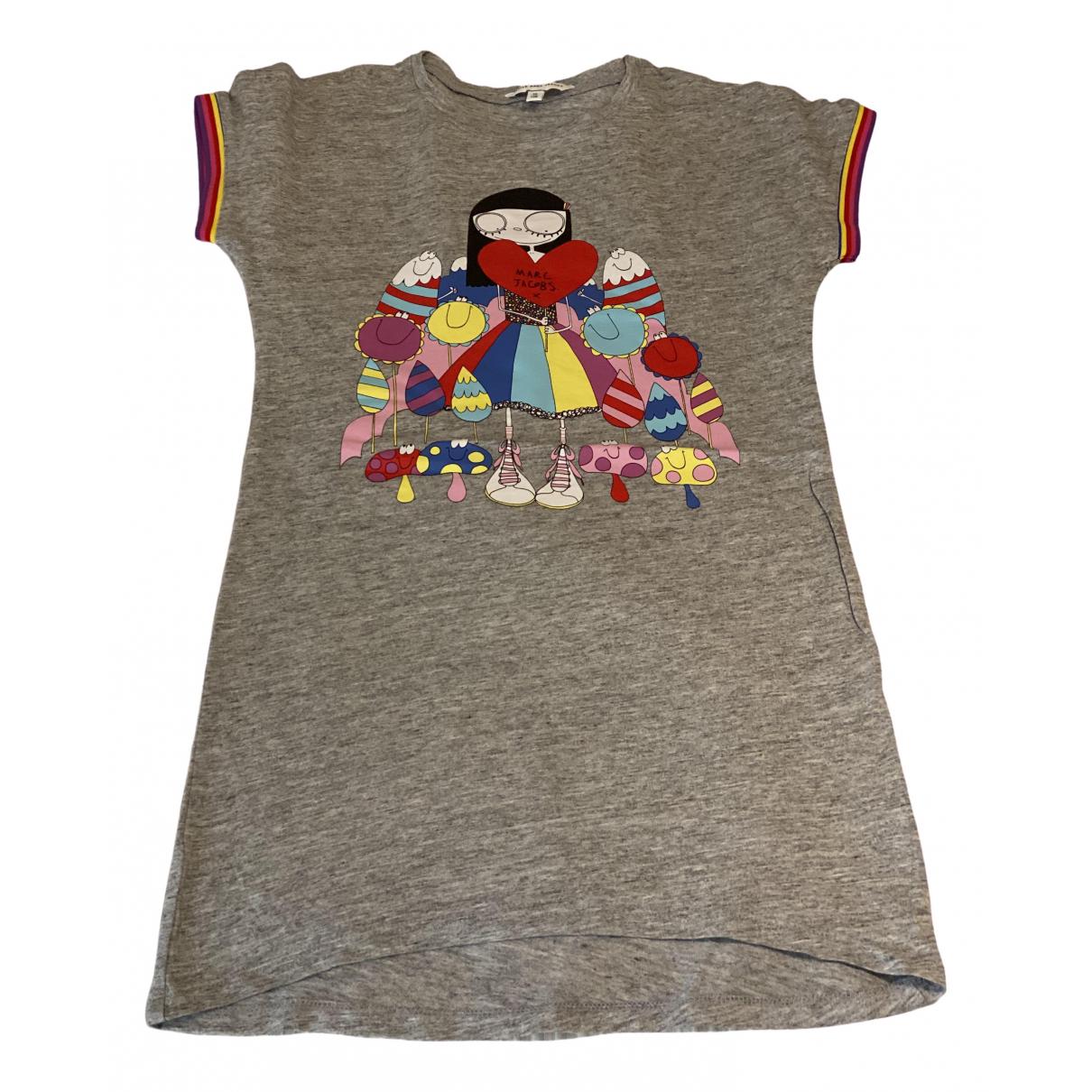Little Marc Jacobs - Robe    pour enfant en coton - gris
