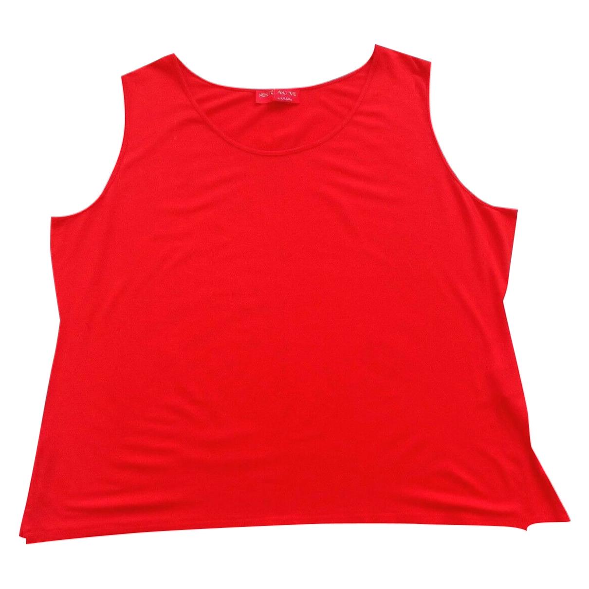 Krizia - Top   pour femme - rouge
