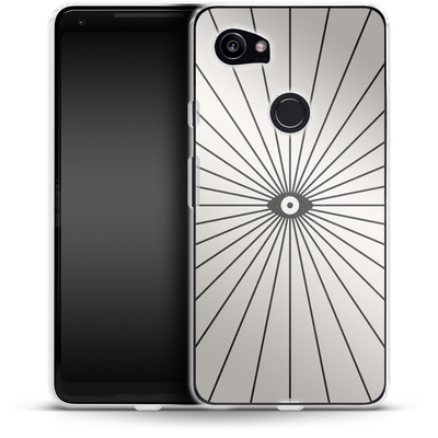 Google Pixel 2 XL Silikon Handyhuelle - Big Brother von Florent Bodart