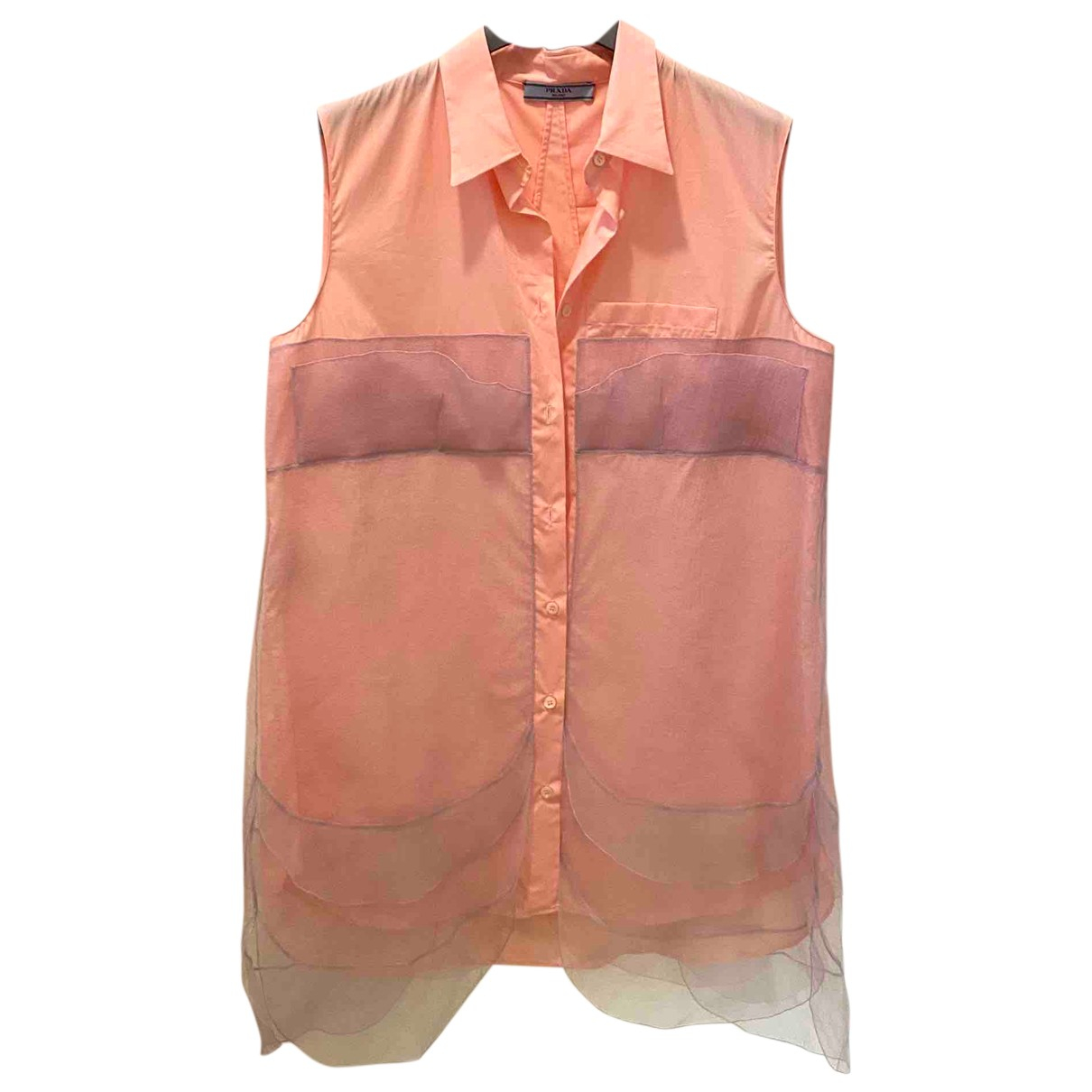 Prada N Pink Cotton dress for Women 44 IT