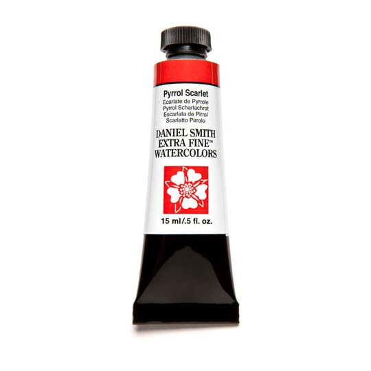 Daniel Smith Extra Fine™ Watercolor, 15 Ml Paint in Pyrrol Scarlet | Michaels®