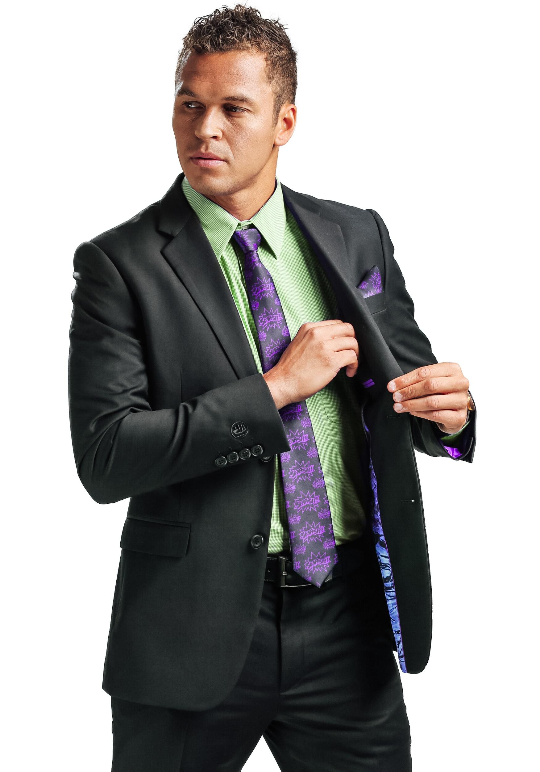 Secret Identity Incredible Hulk Slim Fit Suit Jacket