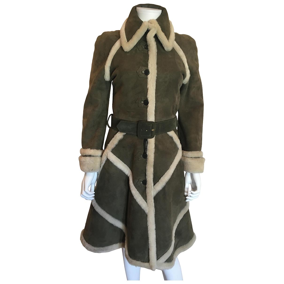 Givenchy - Manteau   pour femme en mouton - vert