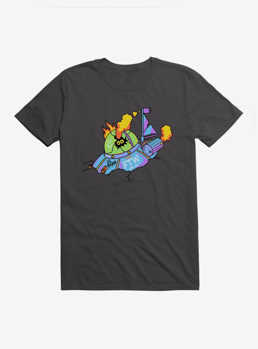 Rick And Morty El Ricko Saucer T-Shirt