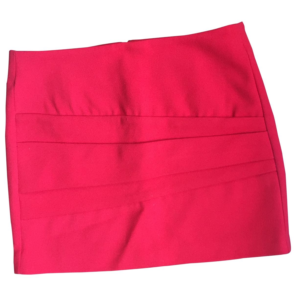 Maje - Jupe   pour femme - rouge