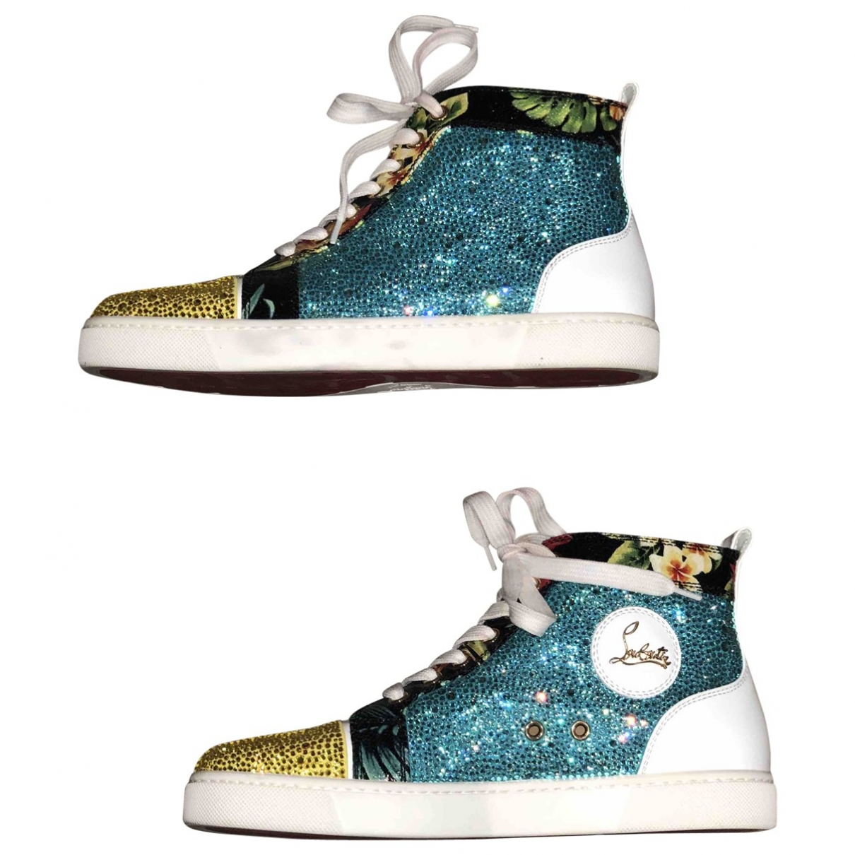 Christian Louboutin \N Multicolour Leather Trainers for Women 39 EU