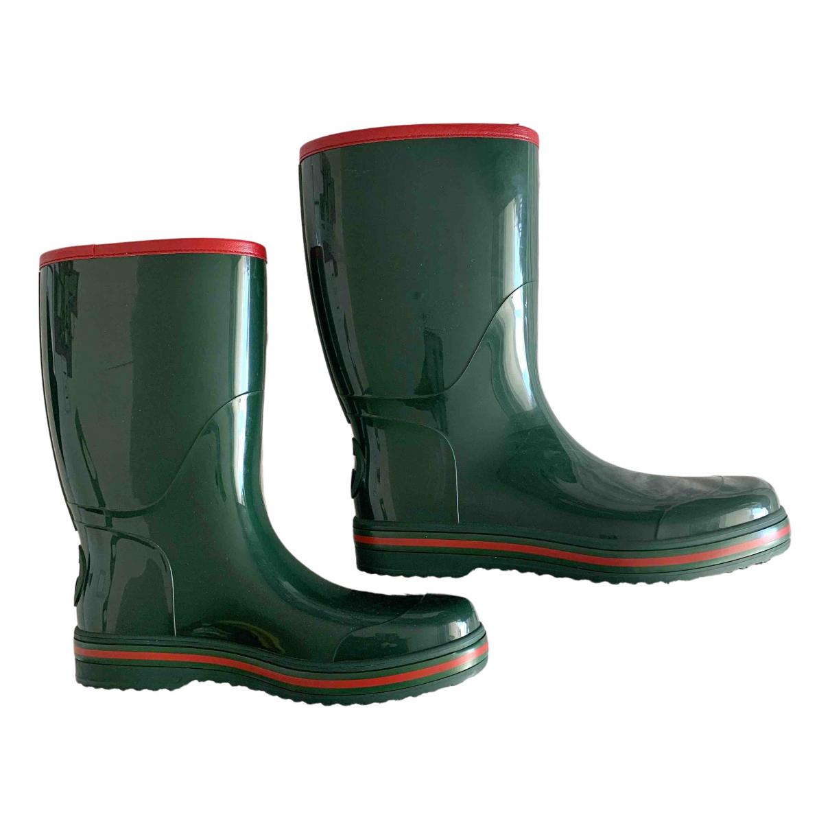 Gucci \N Green Boots for Men 42 EU