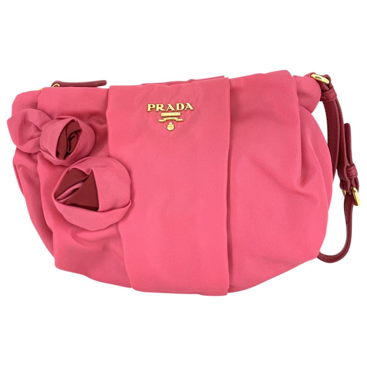 Bolsos clutch en Sintetico Rosa Prada