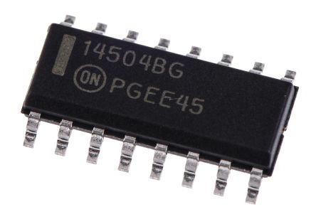 Nexperia 74HC594D,112 8-stage Shift Register, Serial to Parallel Converter, , Uni-Directional, 16-Pin SOIC (10)