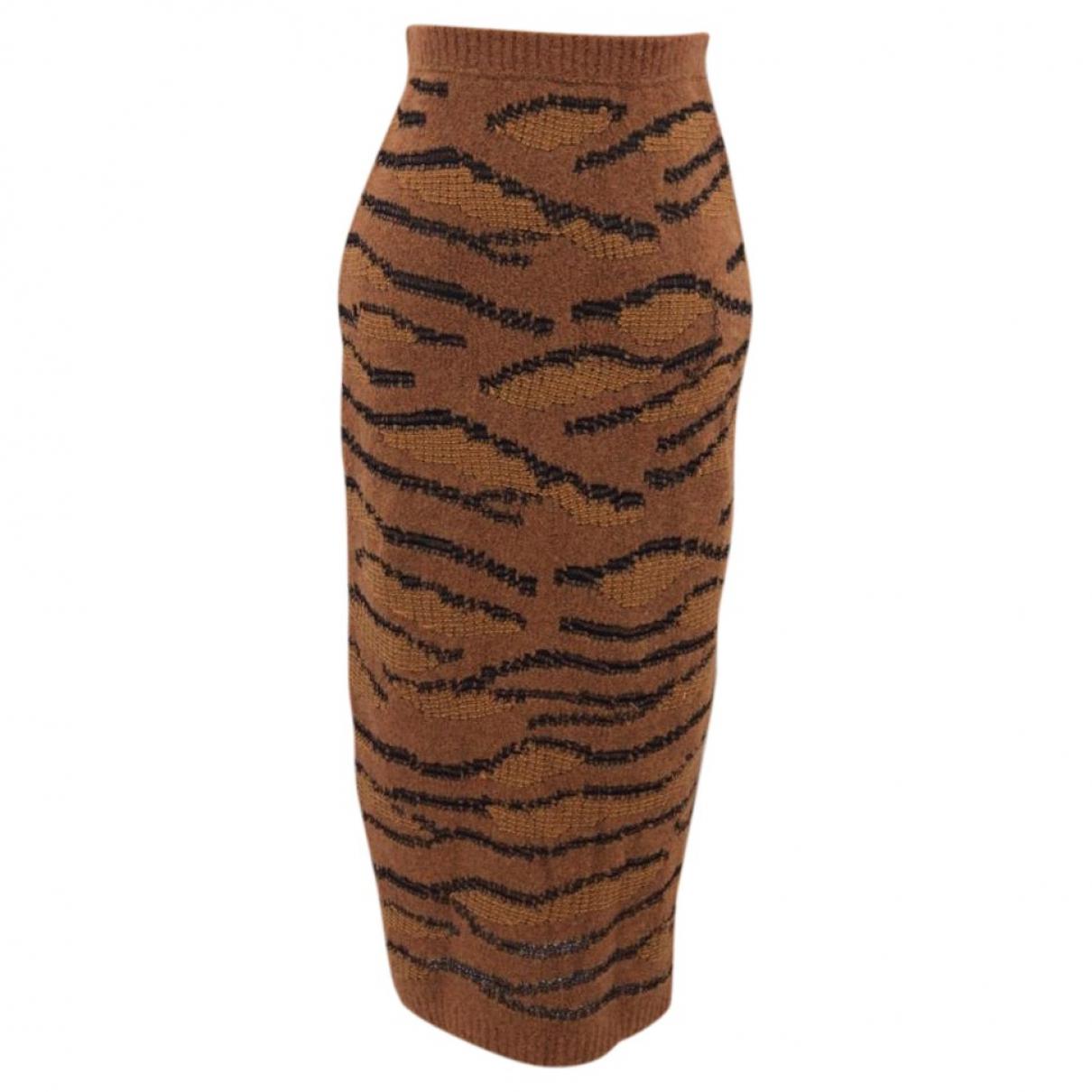 Stella Mccartney - Jupe   pour femme en laine - marron