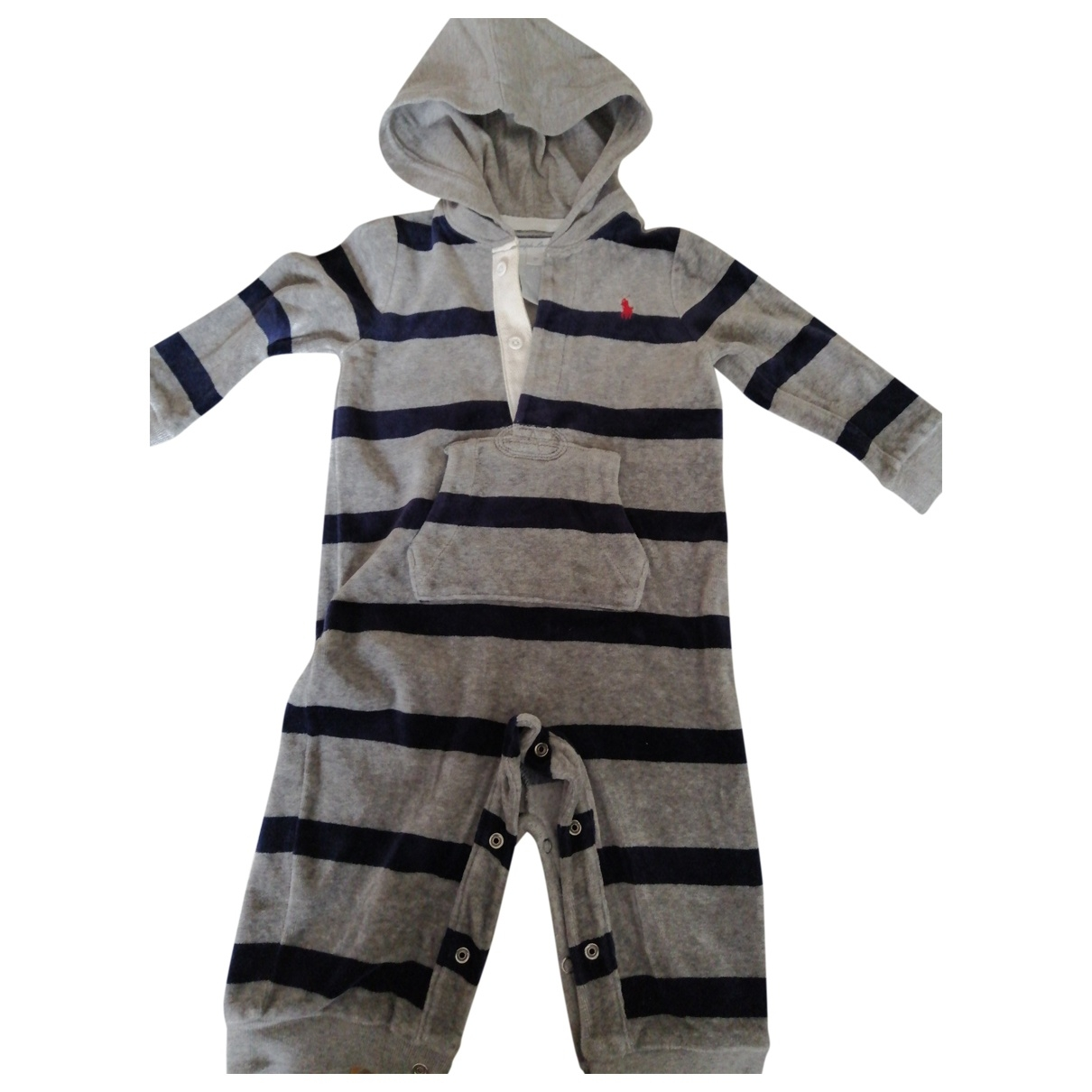 Ralph Lauren \N Anthracite Velvet Outfits for Kids 9 months - up to 71cm FR