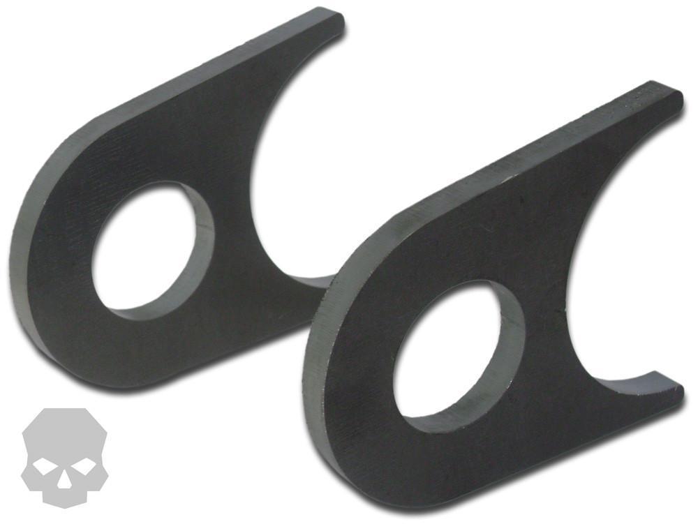 HD Tie Down Tabs Flat Bottom Ballistic Fabrication BRK-1079-5