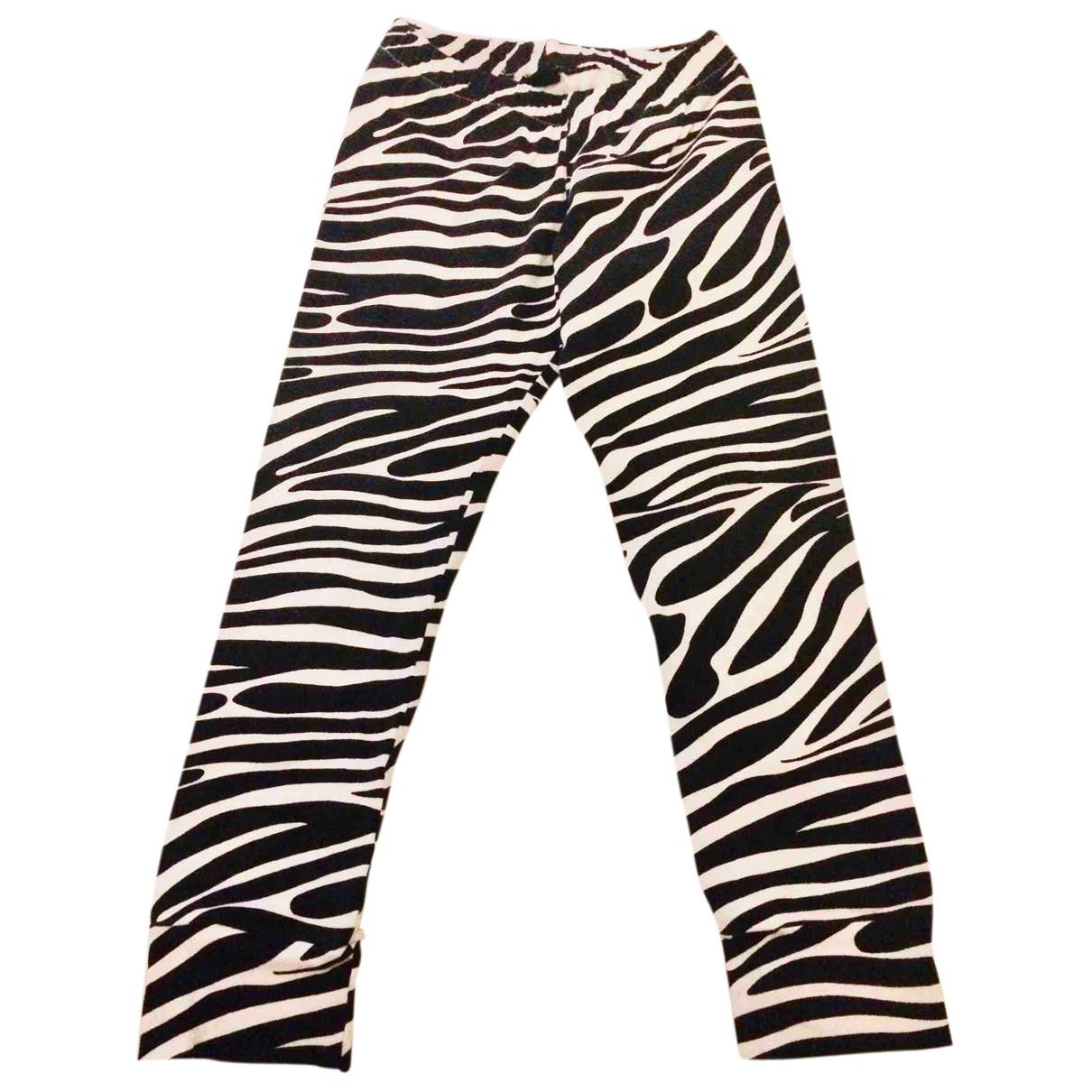 - Pantalon   pour enfant en coton - multicolore