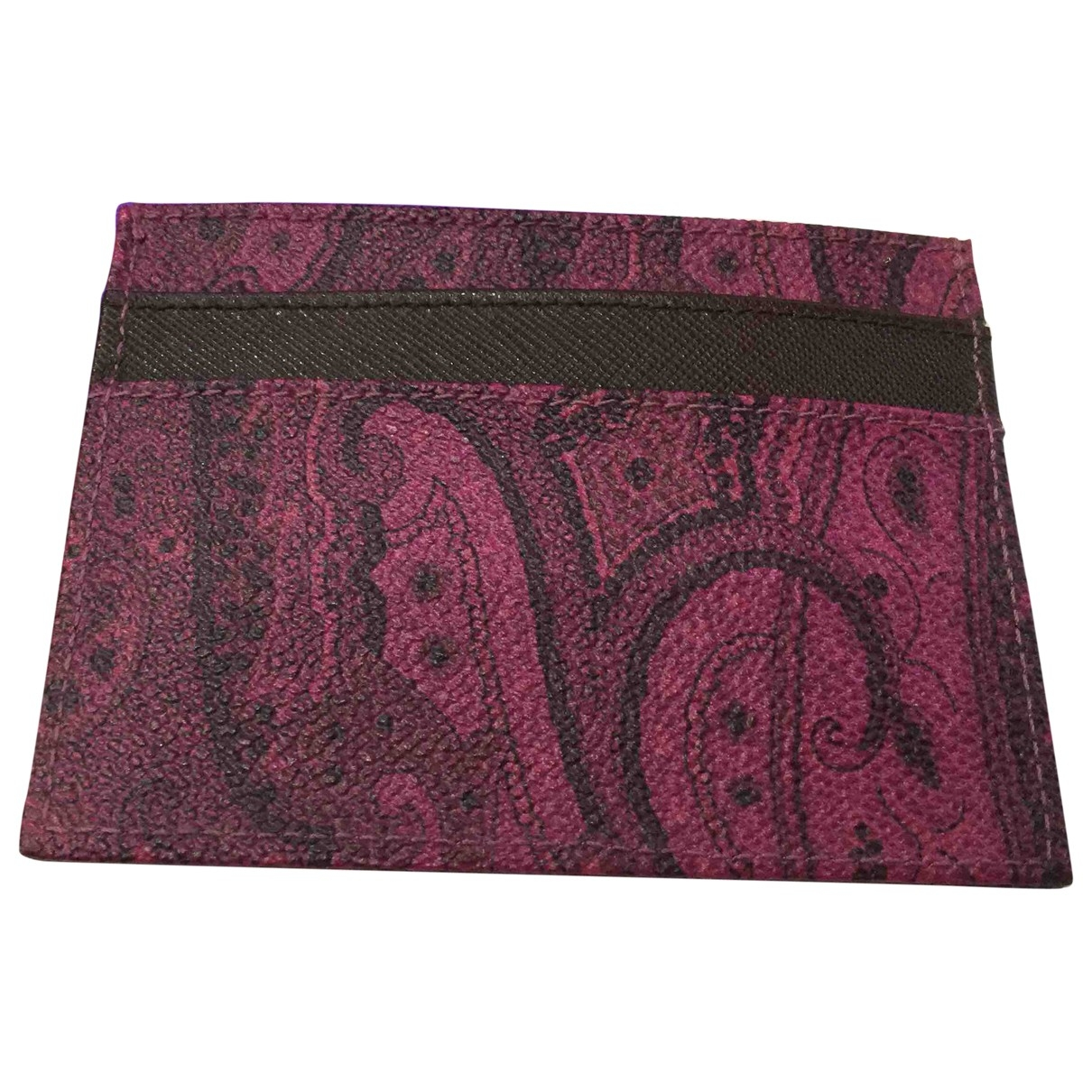 Etro \N Leather Purses, wallet & cases for Women \N
