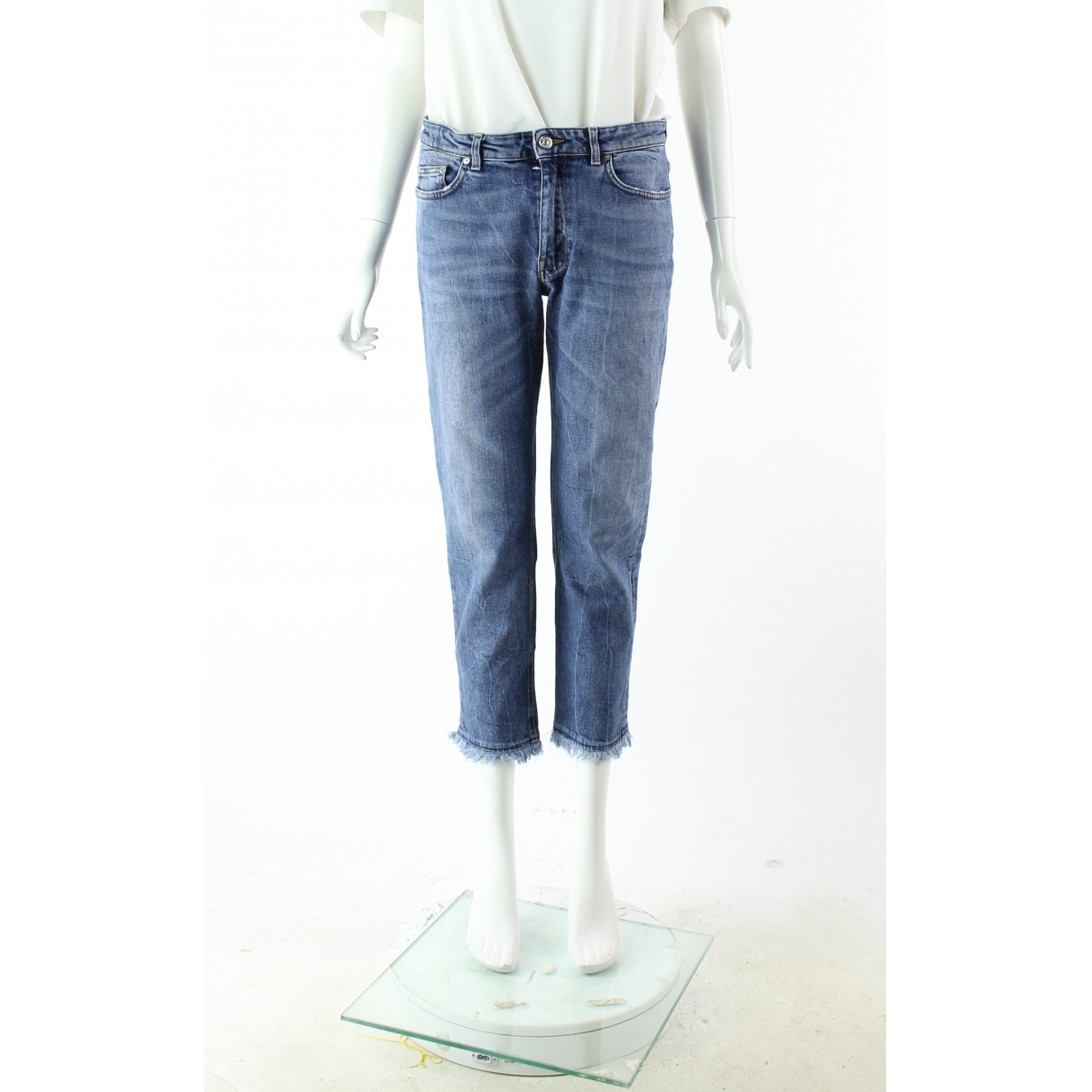 Acne Studios Row Blue Denim - Jeans Jeans for Women 40 FR