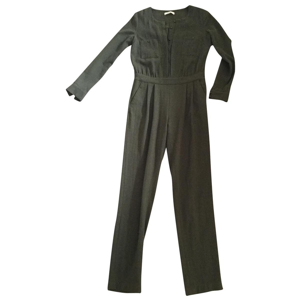 Sessun \N Khaki Wool jumpsuit for Women 38 FR