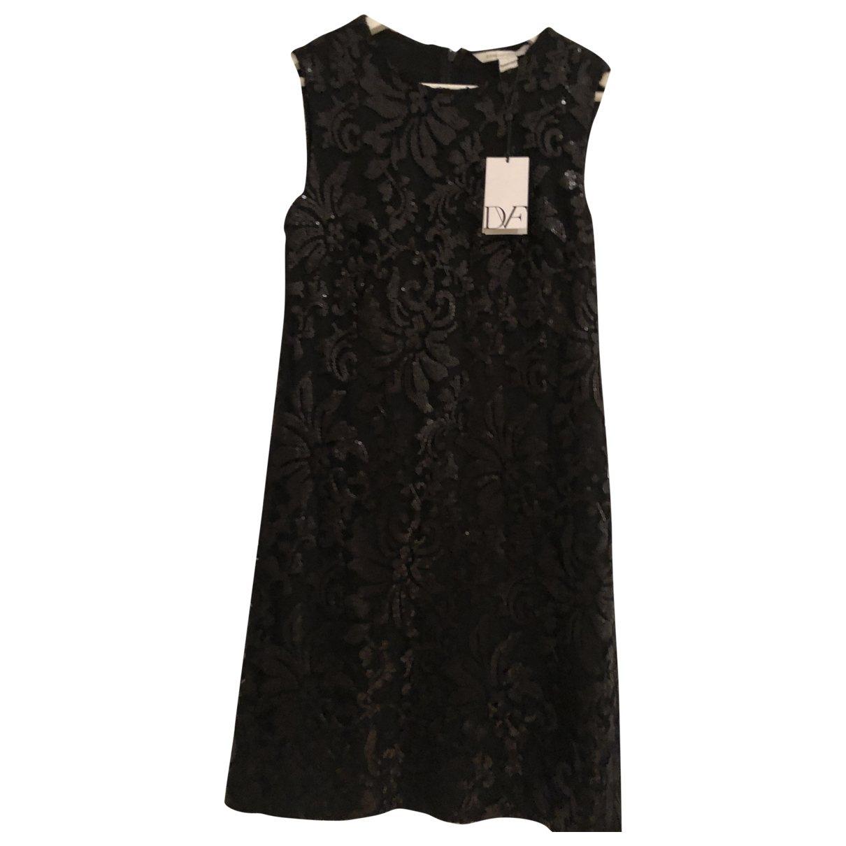 Diane Von Furstenberg \N Black Glitter dress for Women 4 US