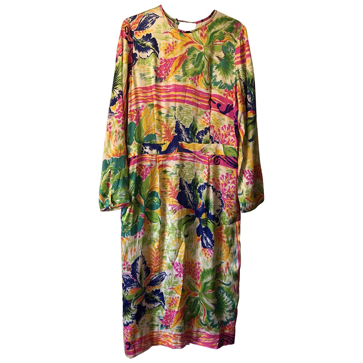 By Malene Birger \N Multicolour Silk dress for Women 14 UK