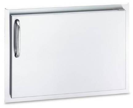 14 x 20 Double Wall Single Access Door with Right Door Hinge in Stainless