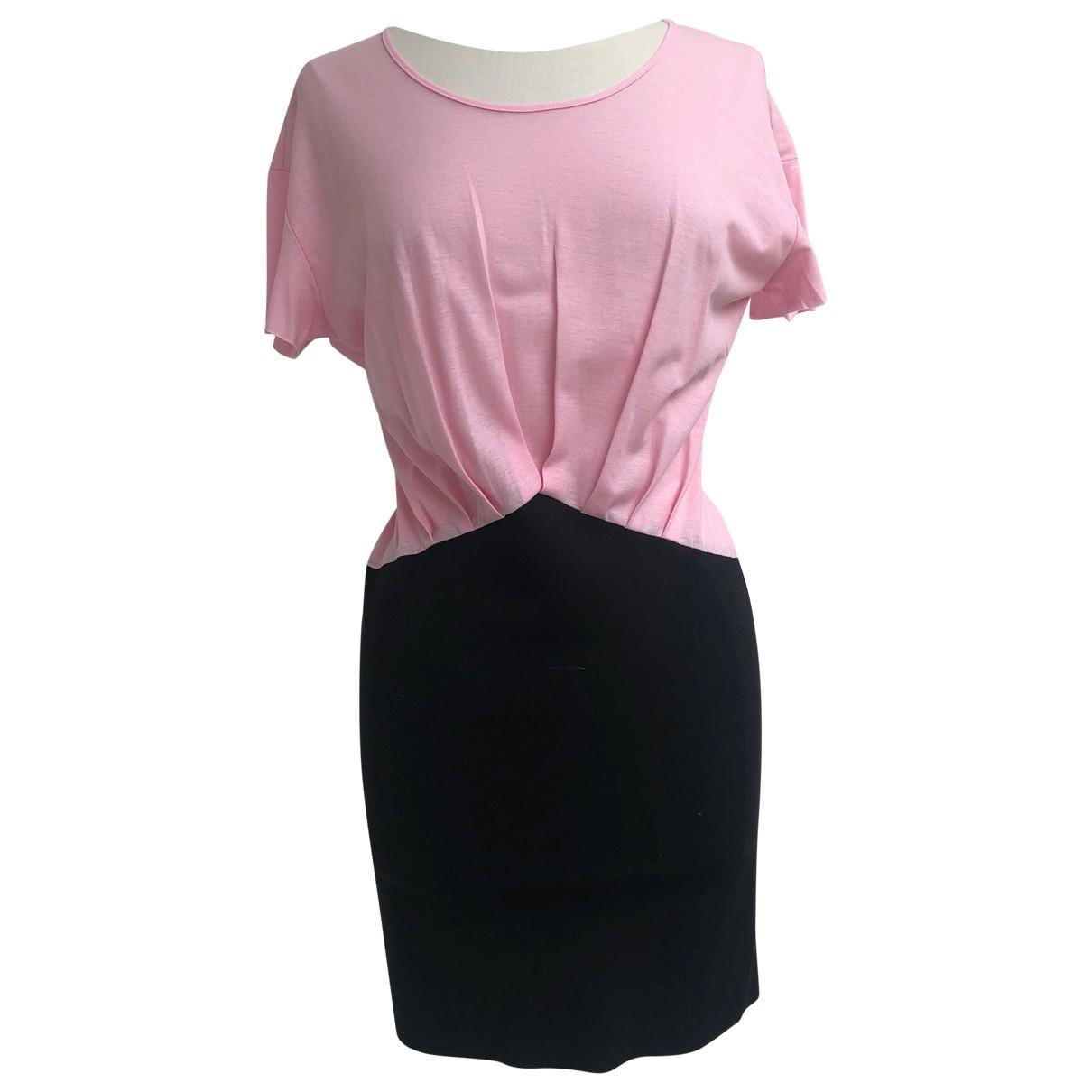 Supertrash \N Kleid in  Rosa Viskose