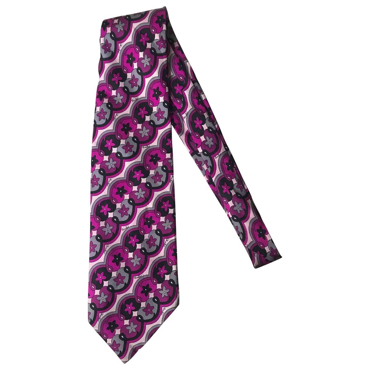 Emilio Pucci \N Multicolour Silk Ties for Men \N