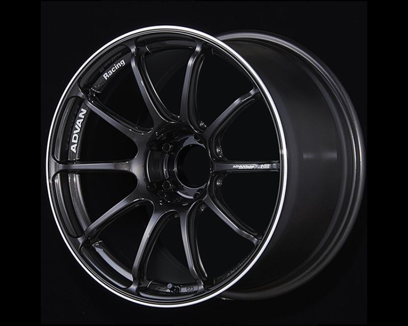 Advan RSIII Wheel 18x8.0J 5x108 45mm Black Gun Metallic & Ring