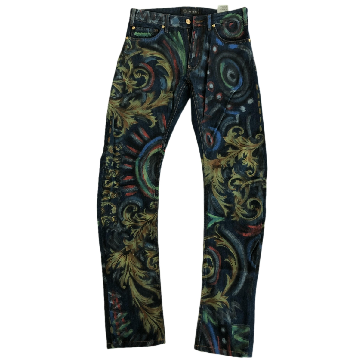 Versace Jeans \N Blue Cotton Jeans for Men 30 US