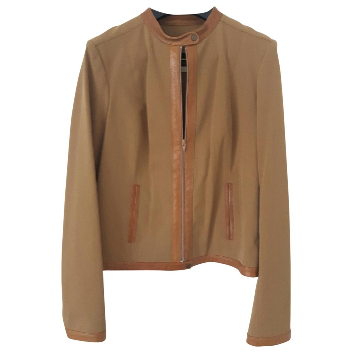Plein Sud - Robe   pour femme en laine - camel