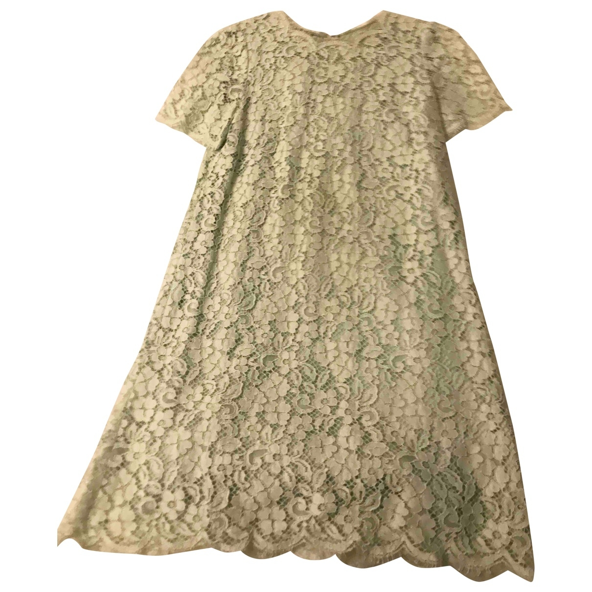 Dolce & Gabbana - Robe   pour femme en coton - vert