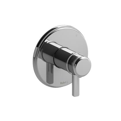 Momenti TMMRD47JC 3-Way No Share Thermostatic/Pressure Balance Coaxial Valve Trim with J Lever Handles  in