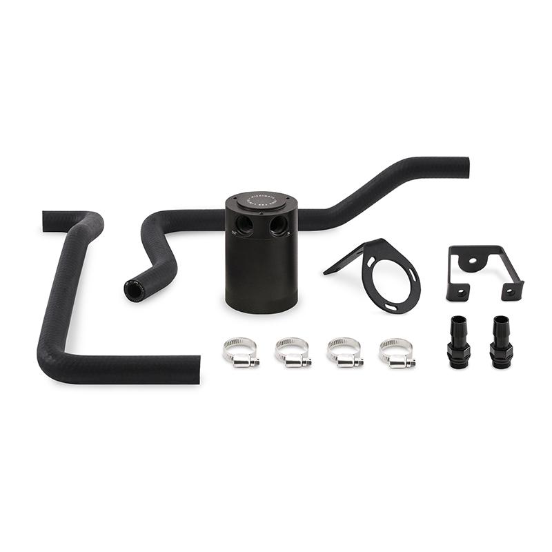 Mishimoto MMBCC-MOP61-05PBEBK Direct Fit Oil Catch Can Kit (Black | 5.7L) Dodge Charger | Chrysler 300C 2005-2010