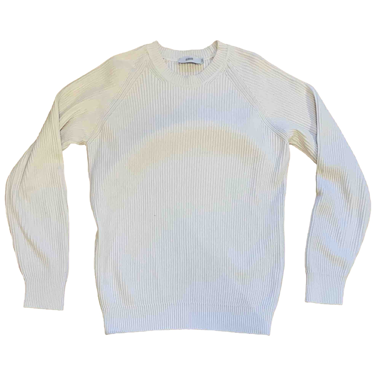 Closed \N Pullover.Westen.Sweatshirts  in  Weiss Baumwolle