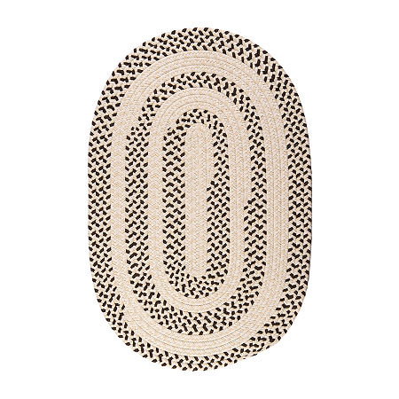 Colonial Mills Softweave Braided Oval Reversible Indoor Rugs, One Size , Brown