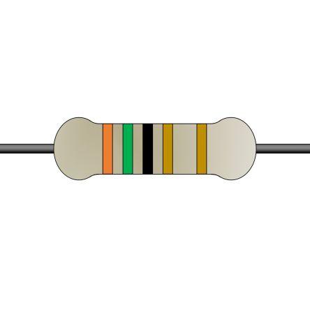 Yageo 15Ω Through Hole Fixed Resistor 5W 5% SQP500JB-15R (900)