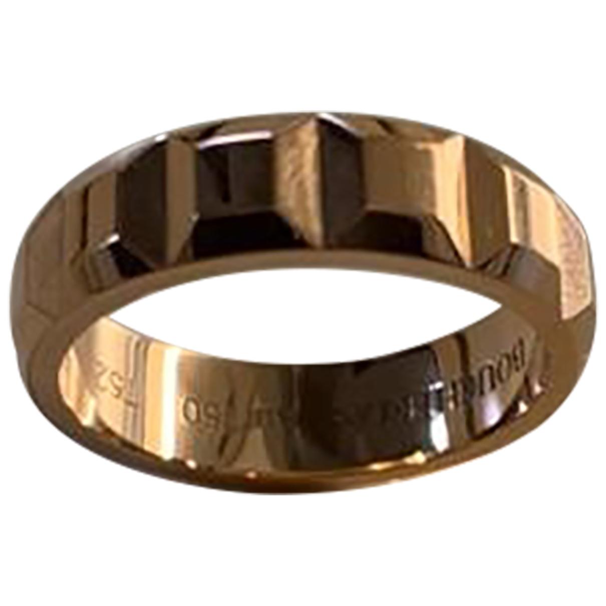 Boucheron Quatre Ring in  Gold Rosegold