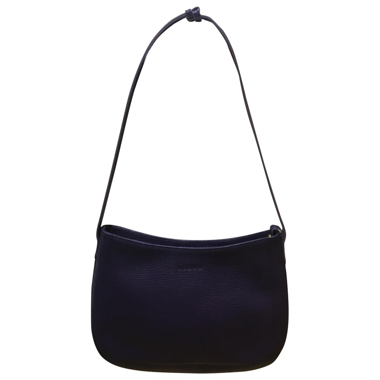 Loewe - Sac a main   pour femme en cuir - violet