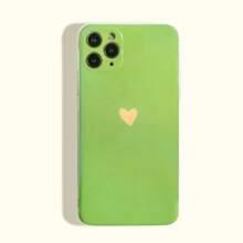 Heart Print iPhone Case