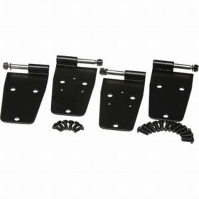 Kentrol Hardtop Door Hinge Set (Black Stainless Steel) - 50420