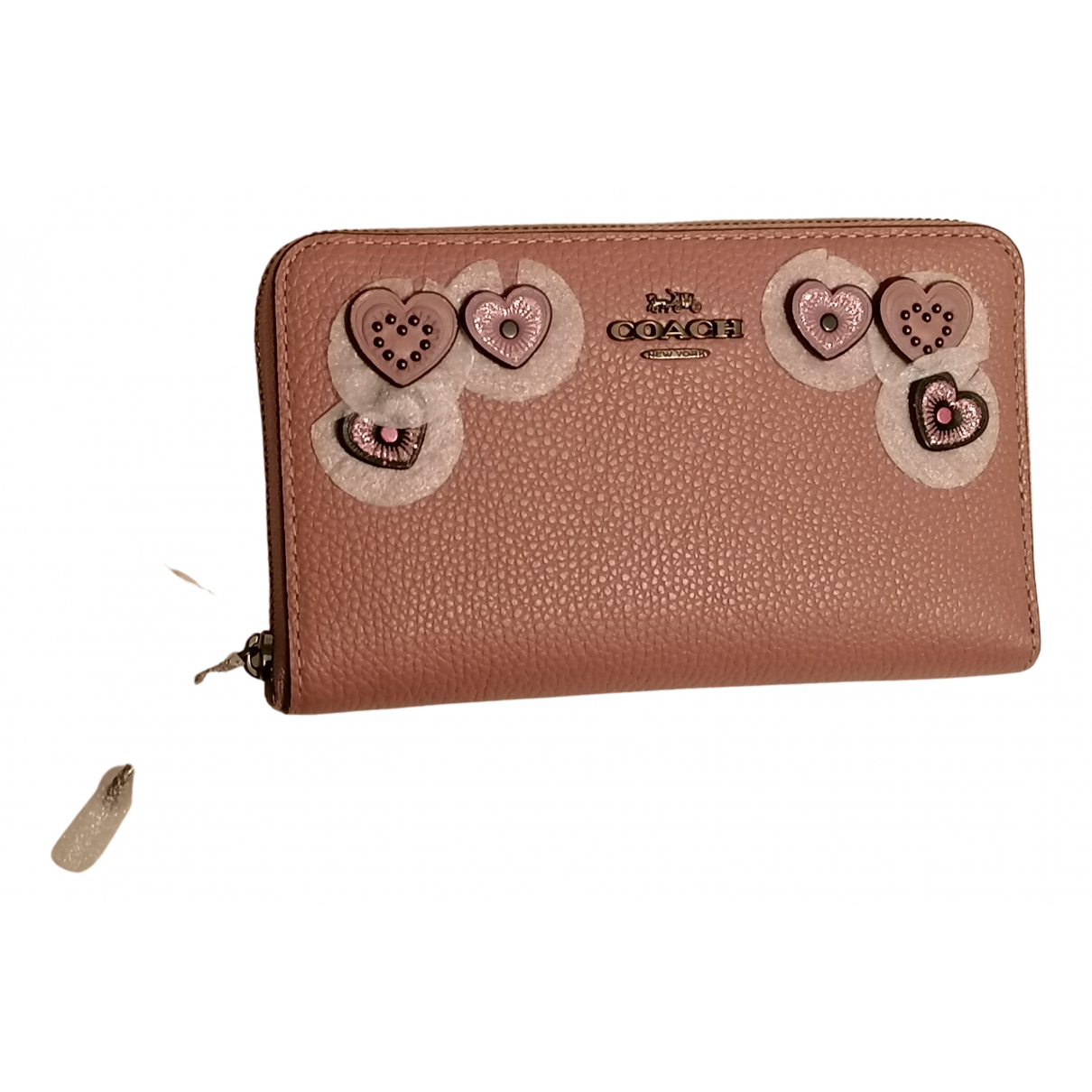 Coach N Pink Leather wallet for Women N