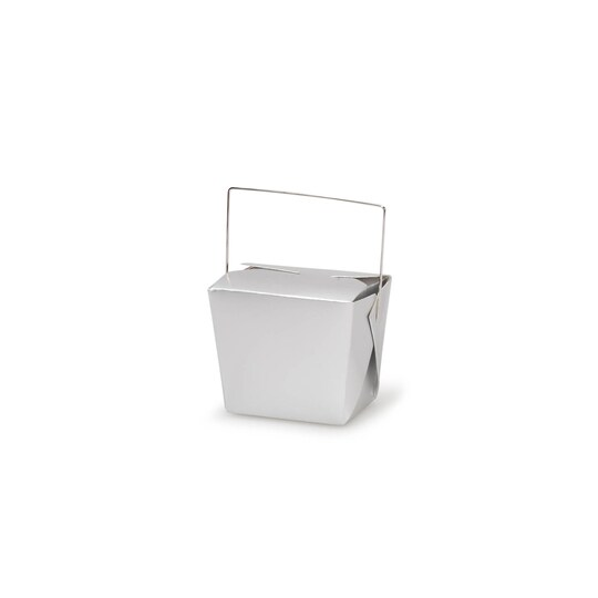 Darice® Chinese Take-Out Favor Box, 8 oz in Metallic Silver | Michaels®