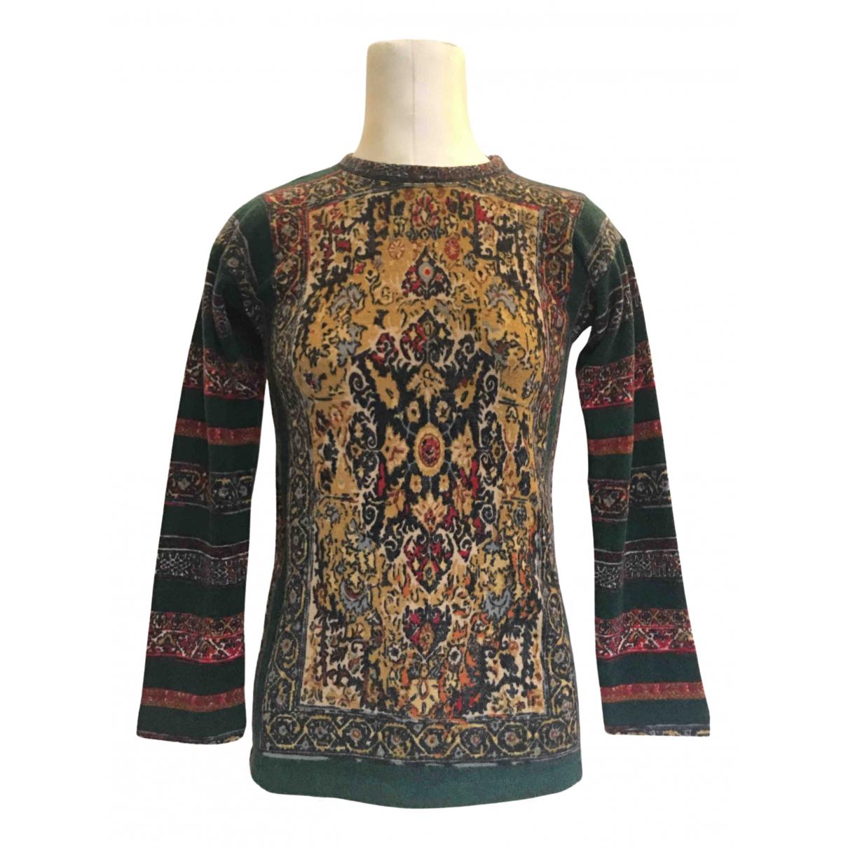 Jean Paul Gaultier - Pull   pour femme en laine - vert
