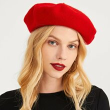 Simple Solid Beret