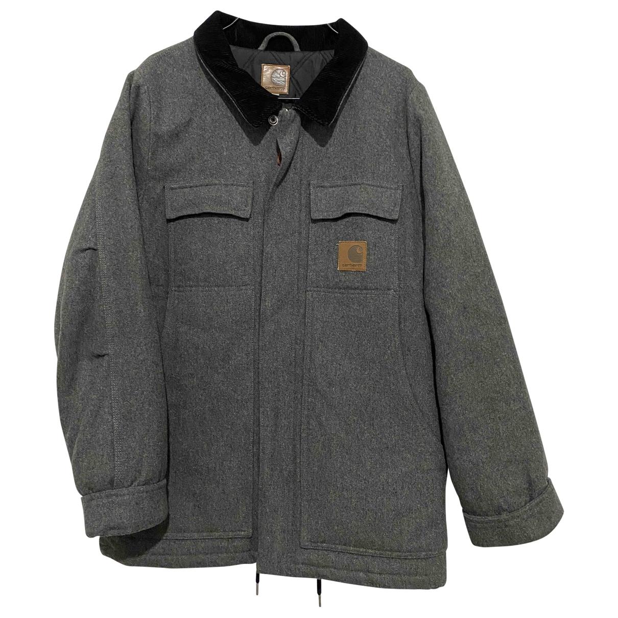 Carhartt - Vestes.Blousons   pour homme en laine - gris