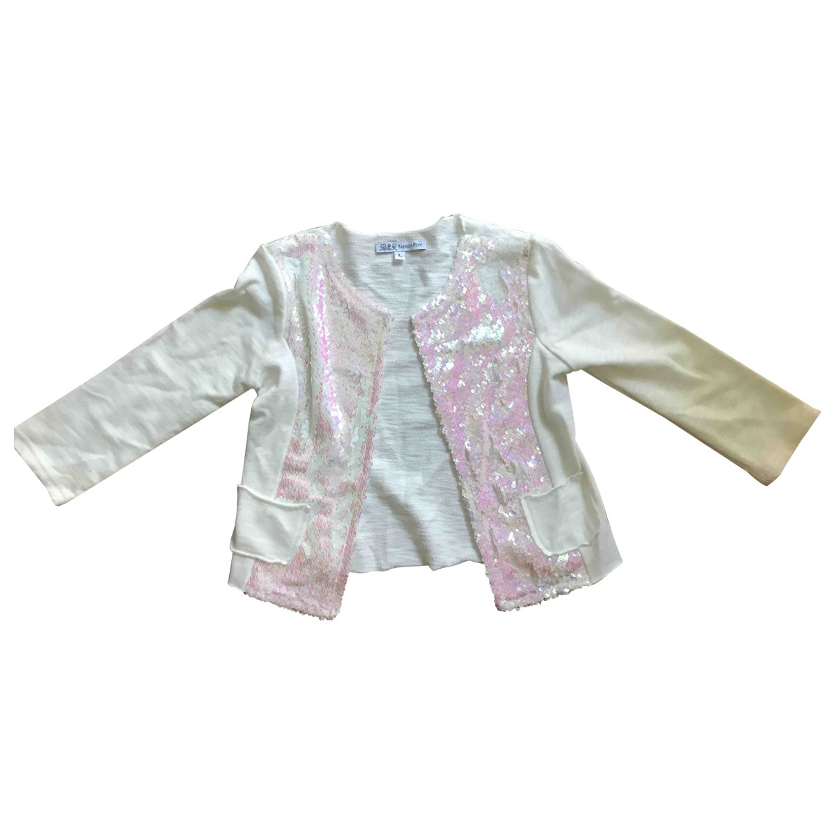 Patrizia Pepe \N White Glitter  top for Kids 5 years - up to 108cm FR