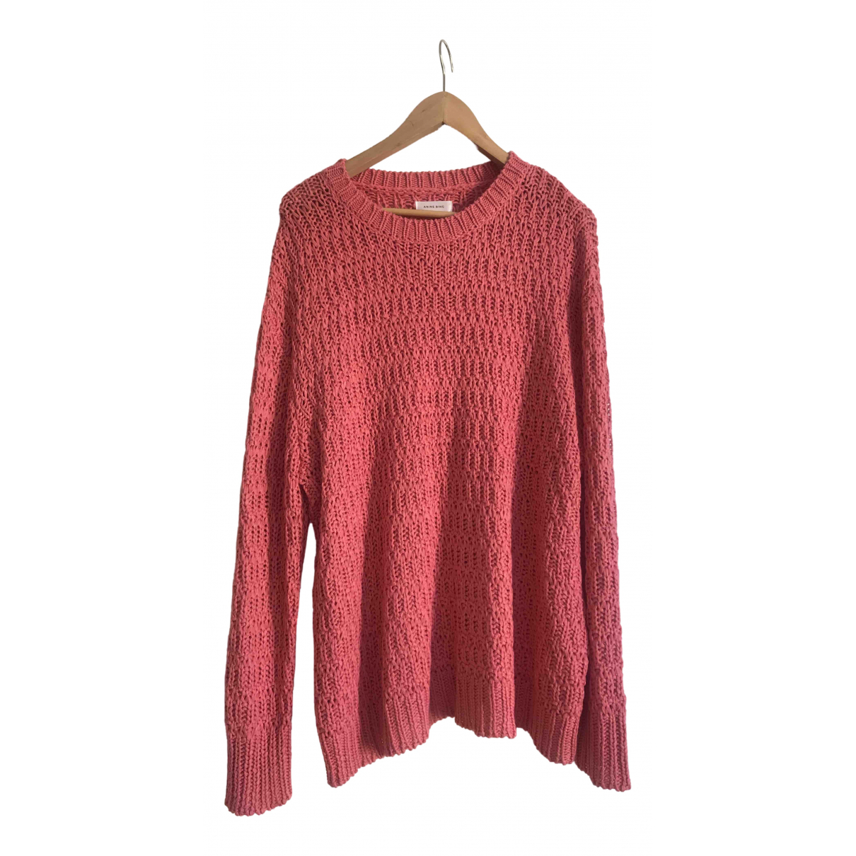 Anine Bing Fall Winter 2019 Pullover in  Rosa Polyester